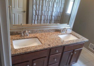 Santa Cecelia Bathroom Countertop Marble, granite, quartz
