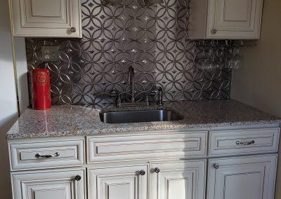 Marble, granite, quartz counter top Giallo Ornamental