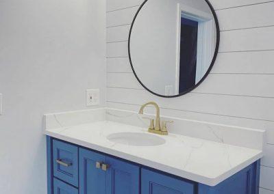 Calacatta ultra bathroom countertop