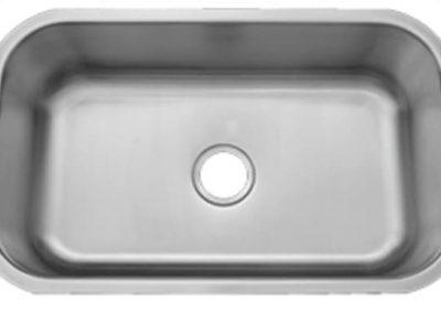 single sink stainless steel